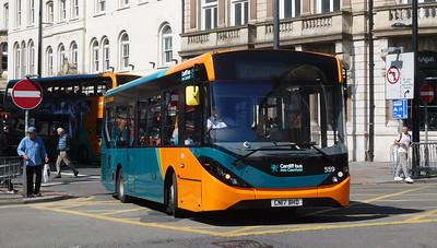559 - CN17BHD - Cardiff (Wood Street)