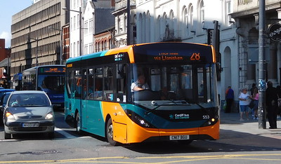 553 - CN17BGU - Cardiff (Wood Street)
