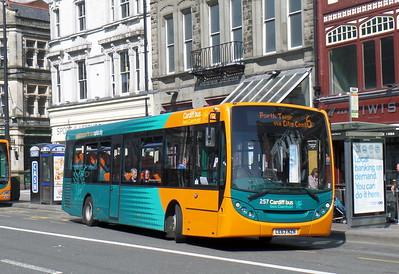 257 - CE63NZN - Cardiff (St. Mary St)