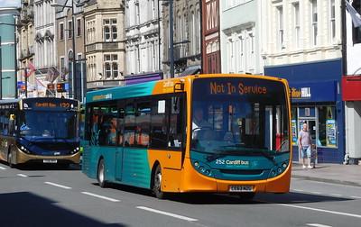 252 - CE63NZG - Cardiff (St. Mary Street)