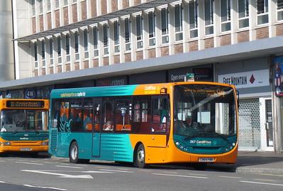 267 - CN64FWR - Cardiff (Wood St)