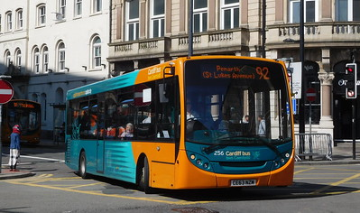 256 - CE63NZM - Cardiff (Wood Street)