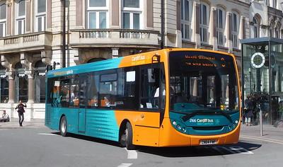 266 - CN64FWP - Cardiff (St. Mary Street)