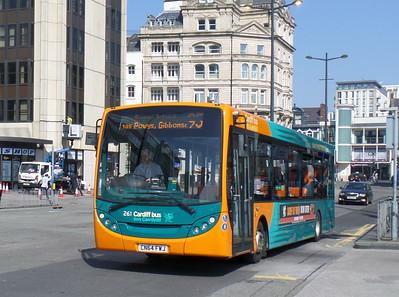 261 - CN64FWJ - Cardiff (Wood St)