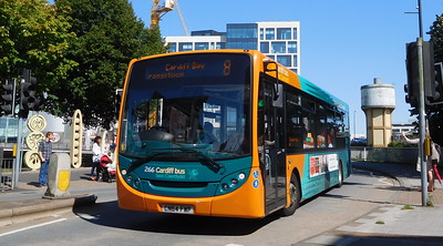 266 - CN64FWP - Cardiff (Wood Street)