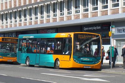 251 - CE53NZF - Cardiff (Wood St)