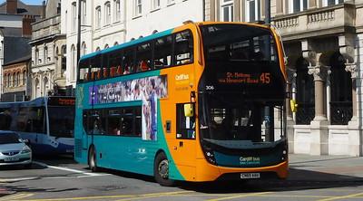 306 - CN65AAU - Cardiff (Wood Street)