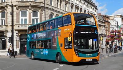 302 - CN65AAF - Cardiff (St. Mary Street)