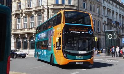 301 - CN65AAE - Cardiff (St. Mary Street)