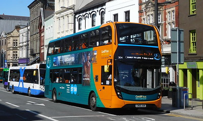304 - CN65AAK - Cardiff (St. Mary Street)