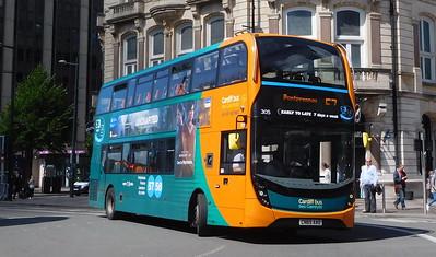 305 - CN65AAO - Cardiff (St. Mary Street)