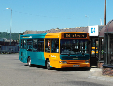 173 - X173CTG - Cardiff (bus station) - 23.7.12