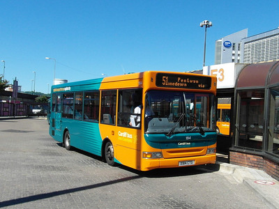 184 - X184CTG - Cardiff (bus station) - 23.7.12