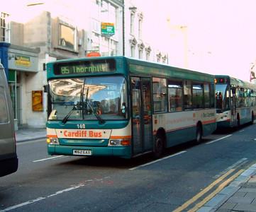 162 - W162EAX - Cardiff (high street) - 31.7.07