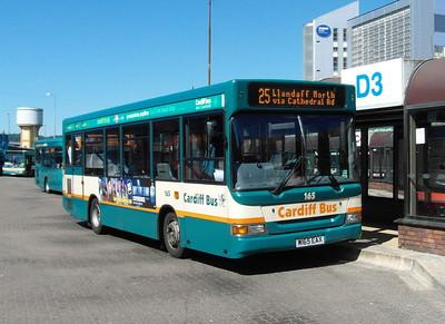 165 - W165EAX - Cardiff (bus station) - 23.7.12