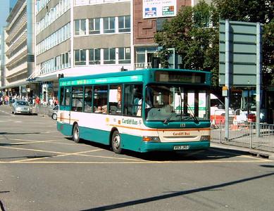 153 - V153JKG - Cardiff (city centre) - 1.8.07