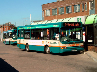 174 - X174CTG - Cardiff (bus station) - 1.8.07
