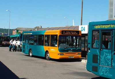 185 - X185CTG - Cardiff (bus station) - 23.7.12