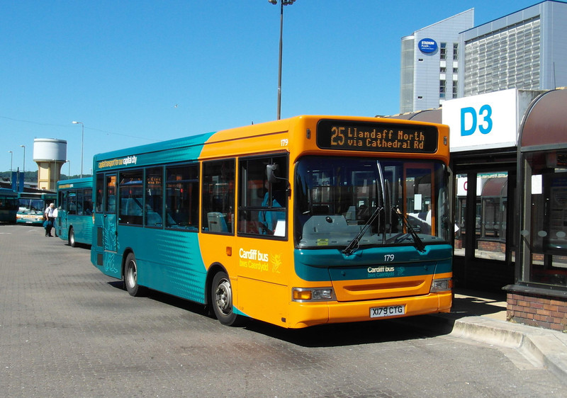 179 - X179CTG - Cardiff (bus station) - 23.7.12