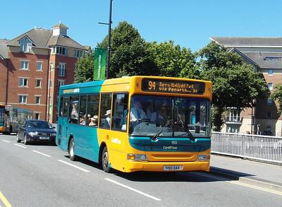 150 - T150DAX - Cardiff (Wood St) - 23.7.12