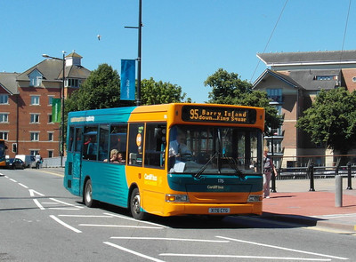 176 - X176CTG - Cardiff (Wood St) - 23.7.12