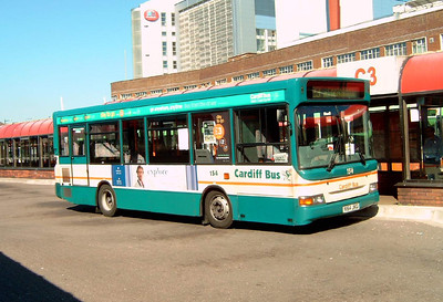 154 - V154JKG - Cardiff (bus station) - 1.8.07