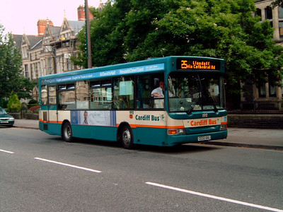192 - CE02UUL - Cardiff (Cathedral Rd) - 2.8.07