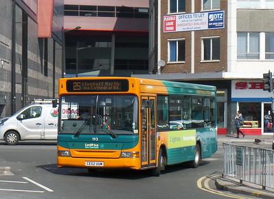 193 - CE02UUM - Cardiff (bus station)