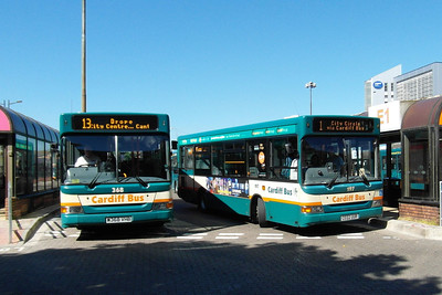 197 - CE02UUR - Cardiff (bus station) - 23.7.12