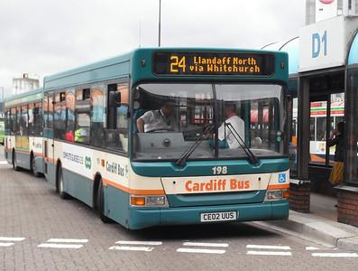 198 - CE02UUS - Cardiff (bus station) - 3.8.09