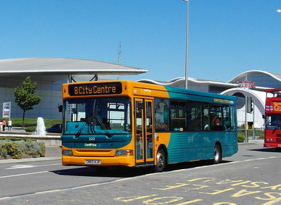 222 - CN53AJX - Cardiff Bay (Mermaid Quay) - 23.7.12