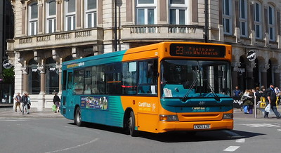 221 - CN53AJV - Cardiff (St. Mary Street)