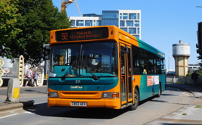 231 - CN53AKV - Cardiff (Wood Street)