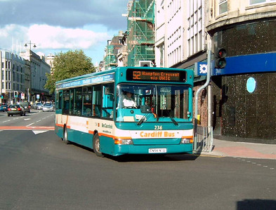 236 - CN54NTU - Cardiff (High St) - 31.7.07