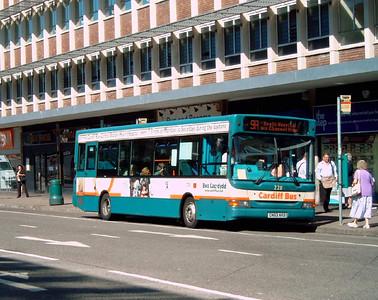 228 - CN53AKO - Cardiff (Wood St) - 1.8.07
