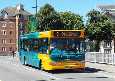 231 - CN53AKV - Cardiff (Wood St) - 23.7.12