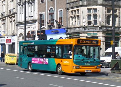 229 - CN53AKP - Cardiff (St. Mary St)