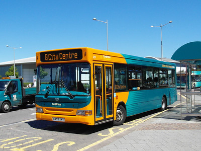 231 - CN53AKV - Cardiff Bay (Mermaid Quay) - 23.7.12