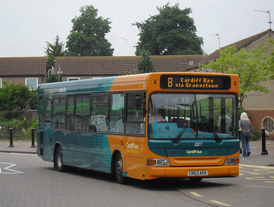 227 - CN53AKK - Cardiff (Mermaid Quay) - 30.7.11