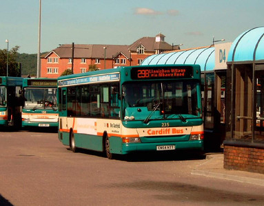 235 - CN54NTT - Cardiff (bus station) - 1.8.07