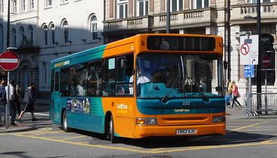 222 - CN53AJX - Cardiff (Wood Street)