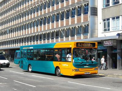 229 - CN53AKP - Cardiff (Wood St) - 23.7.12