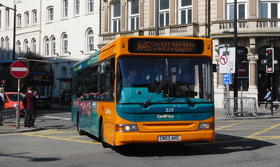 225 - CN53AKG - Cardiff (Wood Street)