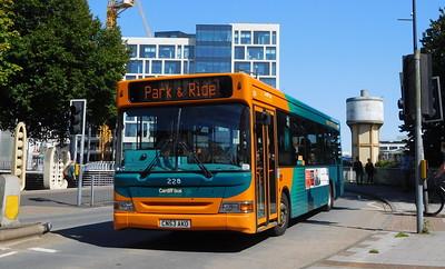 228 - CN53AKO - Cardiff (Wood Street)