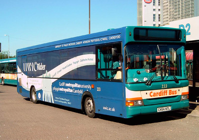 233 - CN54NTL - Cardiff (bus station) - 1.8.07