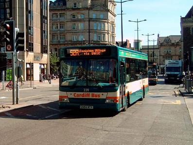 239 - CN54NTY - Cardiff (Wood St) - 1.8.08