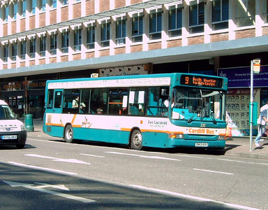 232 - CN53AKX - Cardiff (Wood St) - 1.8.07