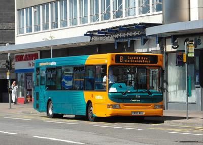 226 - CN53AKJ - Cardiff (Wood St) - 23.7.12