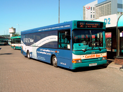 234 - CN54NTM - Cardiff (bus station) - 1.8.07
