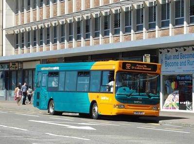 233 - CN54NTL - Cardiff (Wood St) - 23.7.12